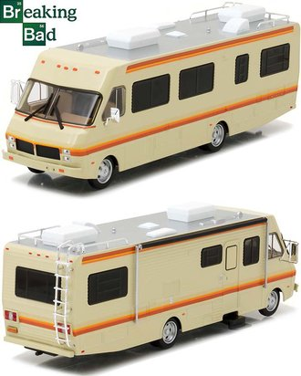 1:43 Breaking Bad (2008-2013) - 1986 Fleetwood Bounder RV