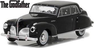 1:43 The Godfather (1972) - 1941 Lincoln Continental w/Bullet Hole Damage