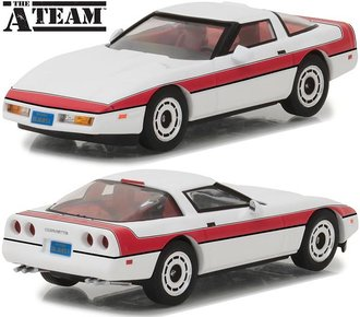 1:43 The A-Team (1983-87 TV Series) - 1984 Chevrolet Corvette C4