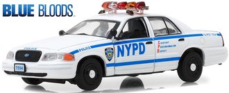 "1:43 Blue Bloods (2010-Current TV Series) - 2001 Ford Crown Victoria PI ""NYPD"""
