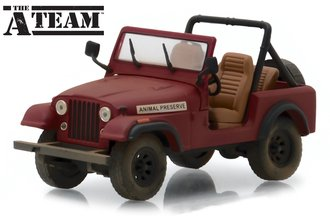1:43 The A-Team (1983-87 TV Series) - Jeep CJ-7
