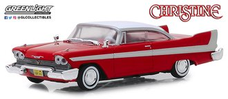 1:43 Christine (1983) - 1958 Plymouth (Red)