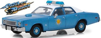 """1:43 Smokey and the Bandit (1977) - 1975 Plymouth Fury """"Arkansas State Police"""""""