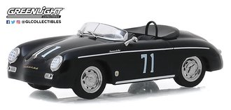 "1:43 Steve McQueen Collection (1930-80) - 1958 Porsche 356 Speedster ""Super #71"" Race Car"