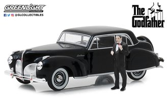 "1:43 1941 Lincoln Continental ""The Godfather (1972)"" w/Don Corleone Figure"