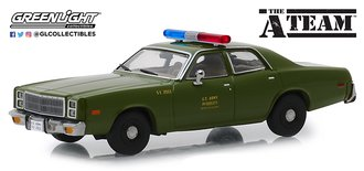 "1:43 The A-Team (1983-87 TV Series) - 1977 Plymouth Fury ""U.S. Army Police"""