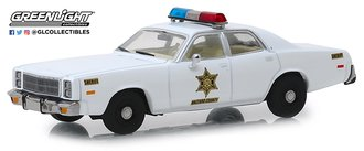 "1:43 1977 Plymouth Fury ""Hazzard County Sheriff"""
