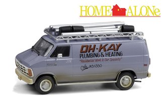 "1:43 Home Alone (1990) - 1986 Dodge Ram Van ""Oh-Kay Plumbing & Heating"""