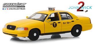 1:43 John Wick: Chapter 2 (2017) - 2008 Ford Crown Victoria Taxi