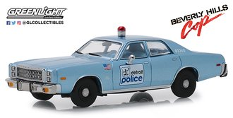 1:43 Beverly Hills Cop (1984) - 1977 Plymouth Fury Detroit Police