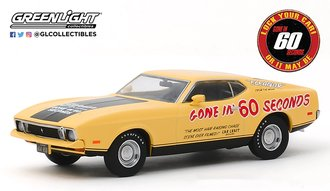 """1:43 Gone in 60 Seconds (1974) 1973 Ford Mustang Mach 1 """"Eleanor"""" (Post-Filming Tribute Edition)"""