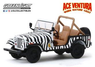 """1:43 1976 Jeep CJ-7 """"Ace Ventura: When Nature Calls (1995)"""""""