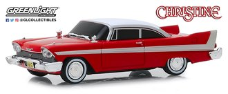 1:43 Christine 1958 Plymouth (Evil Version w/Blacked Out Windows)
