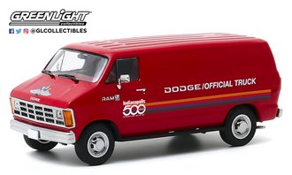 "1:43 1987 Dodge Ram B150 Van ""71st Annual Indianapolis 500 Mile Race Official Truck"""