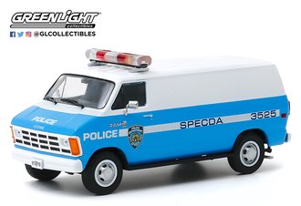 "1:43 1987 Dodge Ram B250 Van ""New York City Police Dept (NYPD)"""