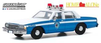 """1:43 Home Alone (1990) - 1986 Chevrolet Caprice """"Wilmette, Illinois Police"""""""