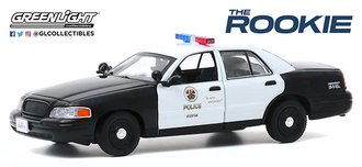 """1:43 The Rookie (2018-Current TV Series) - 2008 Ford CV PI """"Los Angeles Police Department (LAPD)"""""""