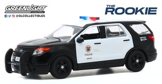 """1:43 The Rookie (2018-Current TV Series) - 2013 Ford PI Utility """"Los Angeles Police Department"""""""