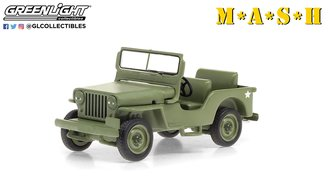 1:43 M*A*S*H (1972-83 TV Series) - 1949 Willys Jeep CJ-2A