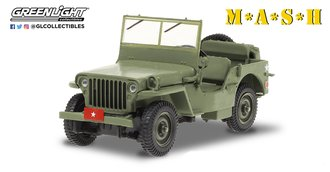 "1:43 M*A*S*H (1972-83 TV Series) - 1942 Willys MB ""Army Brigadier General"""