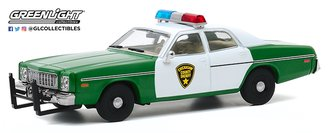 """1:43 1975 Plymouth Fury """"Chickasaw County Sheriff"""""""