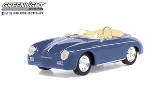 1:43 1958 Porsche 356 Speedster Super (Aquamarine Blue)