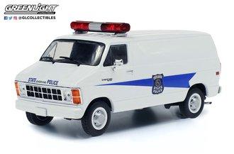 "1:43 1980 Dodge Ram B250 Van ""Indiana State Police"""