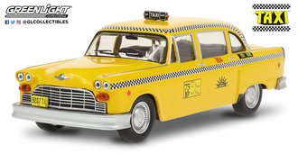 "1:43 Taxi (1978-83 TV Series) - 1974 Checker Taxi ""Sunshine Cab Company #804"""
