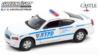 """1:43 Castle (2009-16 TV Series) 2006 Dodge Charger LX """"New York City Police Department (NYPD)"""""""