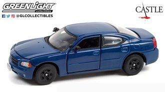 1:43 Castle (2009-16 TV Series) Det. Kate Beckett's 2006 Dodge Charger LX (Midnight Blue Pearlcoat)