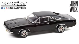 1:43 John Wick (2014) - 1968 Dodge Charger R/T