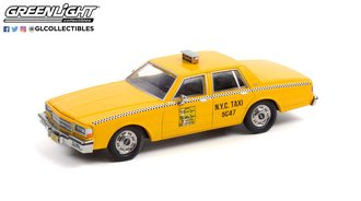 1:43 1987 Chevrolet Caprice - New York City Taxi Cab