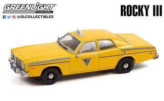 1:43 Rocky III (1982) - 1978 Dodge Monaco - City Cab Co.