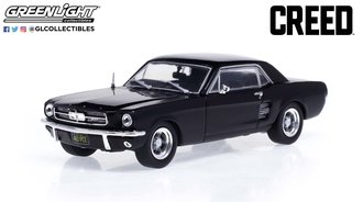 1:43 Creed (2015) - Adonis Creed's 1967 Ford Mustang Coupe - Matte Black