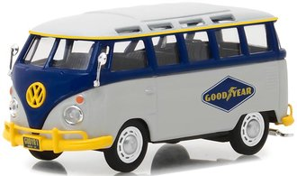 "1:43 Running on Empty Series 1 - Volkswagen Type 2 (T1) Samba Bus ""Goodyear Tires"""