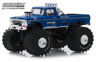 1:43 Bigfoot #1 The Original Monster Truck (1979) - 1974 Ford F-250 Monster Truck w/66-Inch Tires