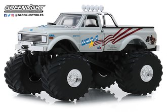 1:43 Kings of Crunch - USA-1 - 1970 Chevrolet K-10 Monster Truck w/66-Inch Tires