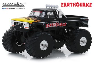 """1:43 Kings of Crunch - 1975 Ford F-250 Monster Truck w/66-Inch Tires """"Earthquake"""""""