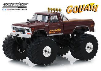 """1:43 Kings of Crunch - 1979 Ford F-250 Monster Truck w/66-Inch Tires) """"Goliath"""""""
