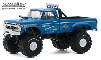 "1:43 1974 Ford F-250 Monster Truck (w/48-Inch Tires) ""Midwest Four Wheel Drive & Performance Center"""