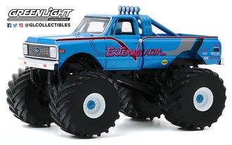 """1:43 Kings of Crunch 1972 Chevrolet K-10 Monster (with 66-Inch Tires) """"ExTerminator"""""""