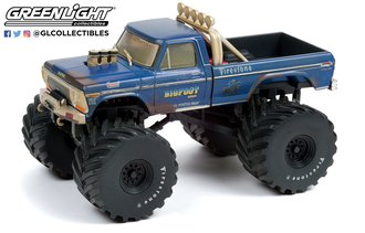 """Bigfoot #1 The Original Monster Truck (1979) 1974 Ford F-250 Truck (w/66""""Tires) (Dirty Version)"""