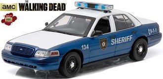 1:18 The Walking Dead (2010-Current) - Rick and Shane's 2001 Ford Crown Victoria Police 2.4 GHz R/C