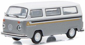 1:64 1976 Volkswagen Type 2 Custom (Gray/White)