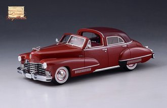 1942 Cadillac Sixty Special Town Brougham by Derham Open Top (Red)