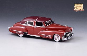 1942 Cadillac Sixty Special Town Brougham by Derham Closed Top (Red)