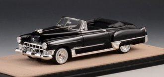1:43 1949 Cadillac Series 62 Convertible Open Top (Black)