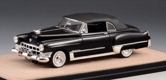 1:43 1949 Cadillac Series 62 Convertible Close Top (Black)