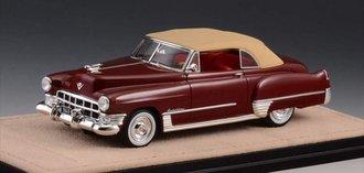 1:43 1949 Cadillac Series 62 Convertible Close Top (Maroon)