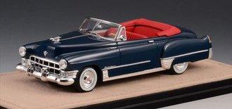 1:43 1949 Cadillac Series 62 Convertible Open Top (Blue)